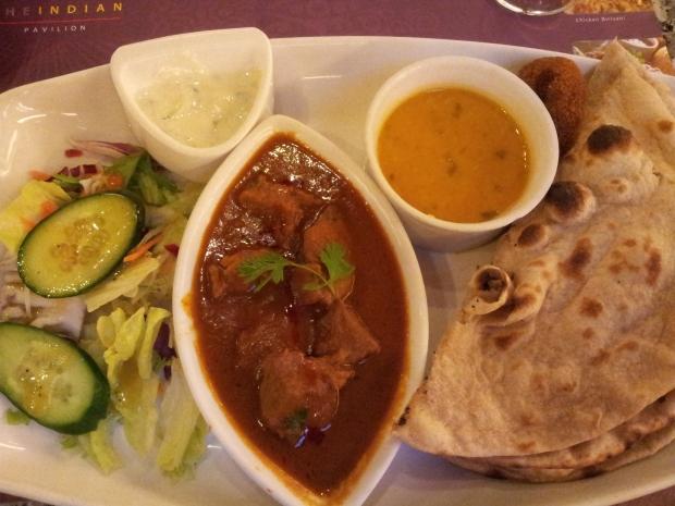 Lamb Madras Platter