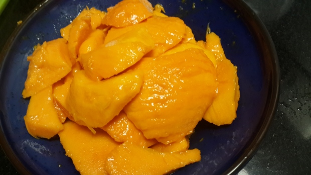 Cut Mangoes