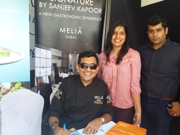 Meeting Chef Sanjeev Kapoor
