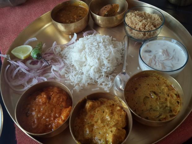 Rajasthani Thali - Neemrana