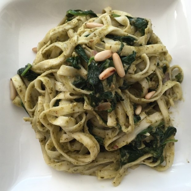 Pesto Spinach Pasta